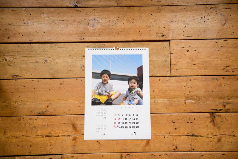 カレンダーCOYOMI 壁かけタイプ リング